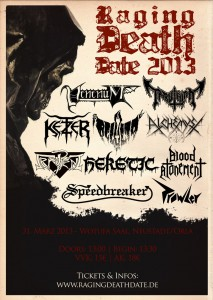 Raging Death Date 2013
