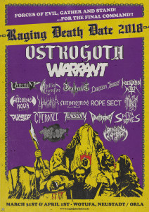 Raging Death Date 2018
